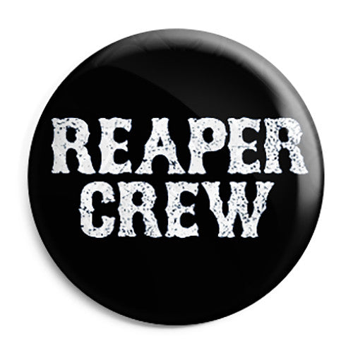 Sons of Anarchy - SAMCRO Reaper Crew Button Badge