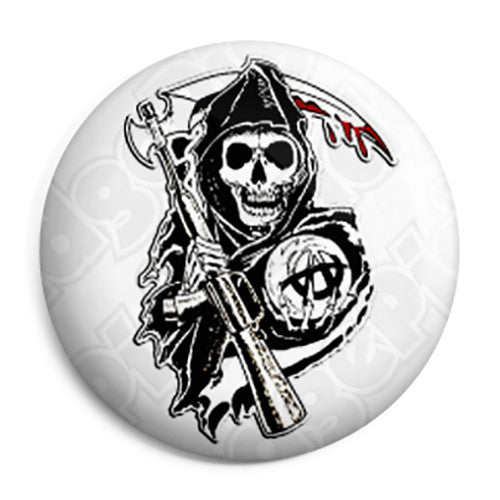 Sons of Anarchy - Reaper TV Logo Button Badge