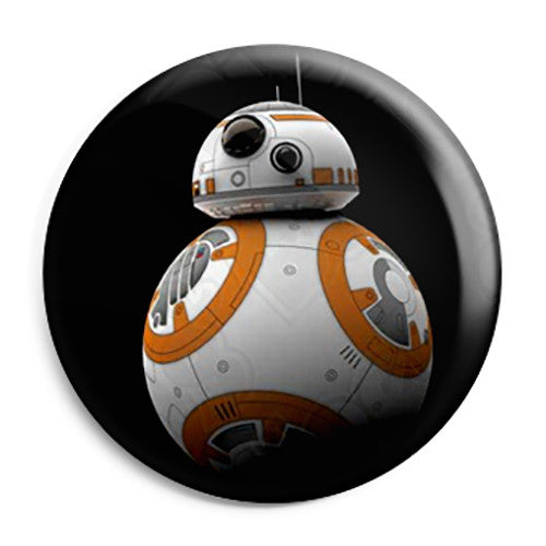 Star Wars Film - The Force Awakens BB-8 Droid Button Badge