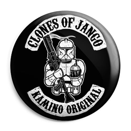Star Wars - Sons of Anarchy - Clones of Jango Button Badge