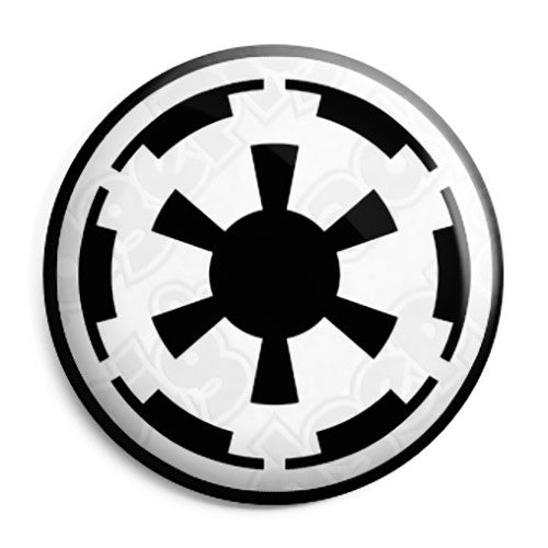Star Wars Galactic Empire Logo Button Badge Fridge Magnet Key