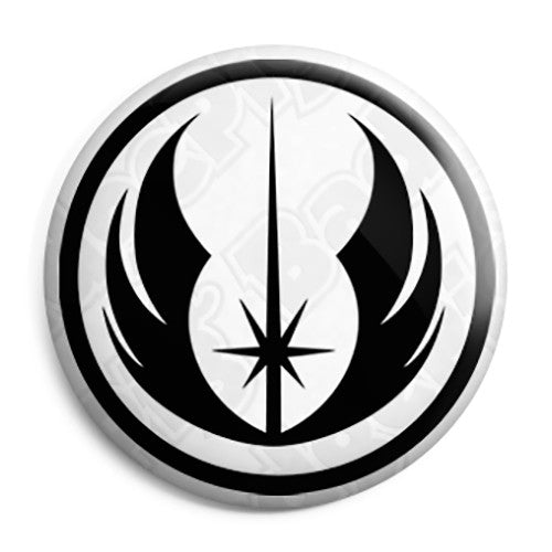 Star Wars - Jedi Order Logo Film Movie Pin Button Badge