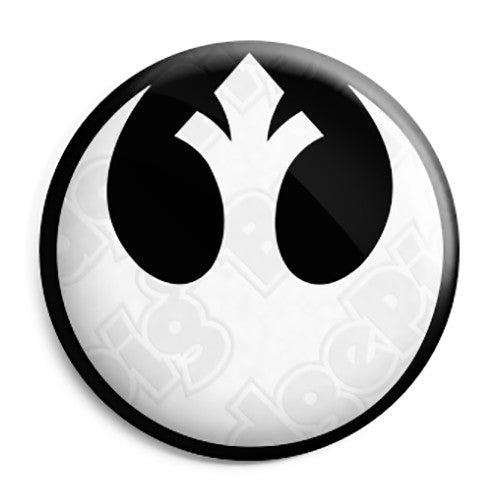 Star Wars - Rebel Alliance Logo Film Pin Button Badge