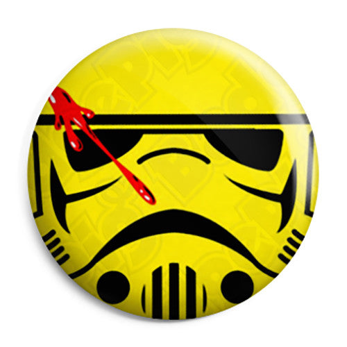 Watchmen Stormtrooper Smiley - Star Wars Button Badge