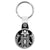 Starbucks Coffee Skull - Horror Key Ring