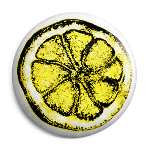 The Stone Roses - Lemon Logo - Indie Button Badge