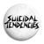 Suicidal Tendencies - Skate Punk Thrash Metal Button Badge