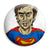 The Peep Show - Super Hans Superman - Button Badge