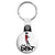 The Beat - Dancing Girl Ska Go Feet 2 Tone Logo Key Ring