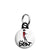 The Beat - Dancing Girl Ska Go Feet 2 Tone Logo Mini Keyring