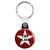 The Clash - Star Logo - Punk Key Ring