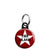 The Clash - Star Logo - Punk Mini Keyring
