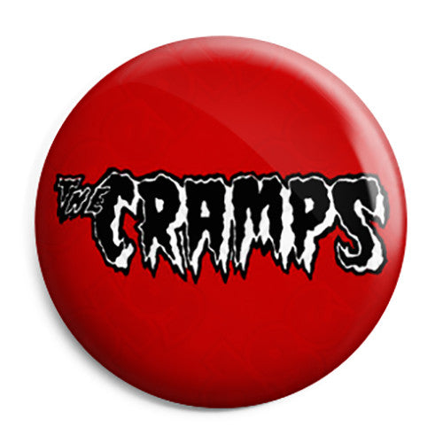 The Cramps - Punk Rockabilly Psychobilly - Button Badge