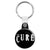 The Cure Band Logo - Goth and Emo Key Ring