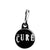 The Cure Band Logo - Goth and Emo Zipper Puller