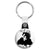 The Cure Robert Smith - Goth and Emo Key Ring