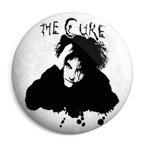 The Cure Robert Smith Goth Button Badge Magnet Key