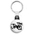 The Jam Logo - Mod Key Ring