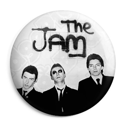 The Jam - In The City Album - Mod Button Badge