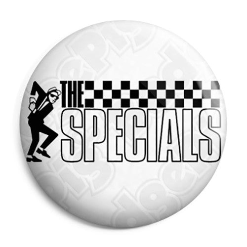 The Specials - Dancing Rude Boy Pin Button Badge