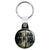 The Walking Dead TV Show - Don't Open Door Dead Inside Key Ring