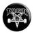 Thrasher - Skate Goat 666 Pentagram Skateboard Button Badge