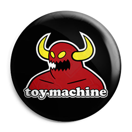 Toy Machine Skateboards - Monster - Skateboard Button Badge