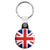 Union Jack British Flag - Mod Key Ring
