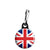 Union Jack British Flag - Mod Zipper Puller