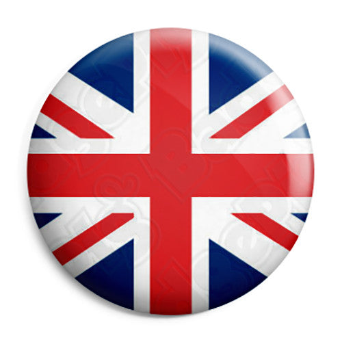 Union Jack British Flag Mod Button Badge Fridge Magnet