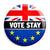 Brexit Vote to Stay Referendum - EU European Union Button Badge