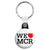 We Love Heart MCR - Support Manchester Terror Attack Victims Key Ring