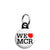 We Love Heart MCR - Support Manchester Terror Attack Victims Mini Keyring