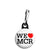 We Love Heart MCR - Support Manchester Terror Attack Victims Zipper Puller