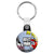 Best Man - Whaam Comic Art Theme Wedding Key Ring