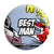Best Man - Whaam Comic Art Theme Wedding Pin Button Badge
