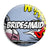 Bridesmaid - Whaam Comic Art Theme Wedding Pin Button Badge
