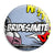 Bridesmate - Whaam Comic Art Theme Wedding Pin Button Badge