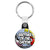 Brother of the Groom - Whaam Comic Art Theme Wedding Key Ring