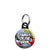 Family of the Bride - Whaam Comic Art Theme Wedding Mini Keyring