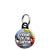 Friend of the Groom - Whaam Comic Art Theme Wedding Mini Keyring