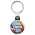 Groom - Whaam Comic Art Theme Wedding Key Ring