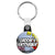 Grooms Entourage - Whaam Comic Art Theme Wedding Key Ring