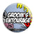 Grooms Entourage - Whaam Comic Art Theme Wedding Pin Button Badge