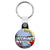 Groomsmate - Whaam Comic Art Theme Wedding Key Ring