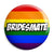 Bridesmate - LGBT Gay Wedding Pin Button Badge