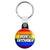 Brides Entourage - LGBT Gay Wedding Key Ring
