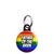 Father of the Bride - LGBT Gay Wedding Mini Keyring