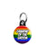 Grandad of the Groom - LGBT Gay Wedding Mini Keyring
