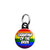 Grandma of the Bride - LGBT Gay Wedding Mini Keyring